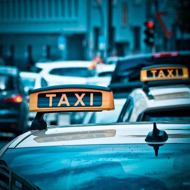 Taxi Suche obraz taxi ząb